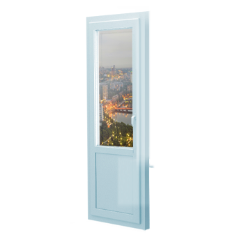 Металлопластиковая дверь входная или межкомнатная