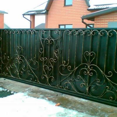 Ворота откатные, роллетные, секционные