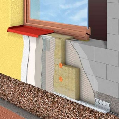 Утепление стен внешнее и внутреннее