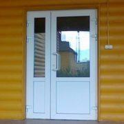 Штуьповая дверь ПВХ