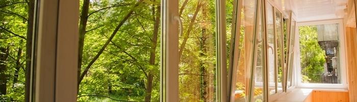 Остекление пвх окнами Виконт окна на балкон