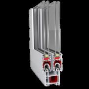 Металлопластиковая раздвижная системя для остекления балкона