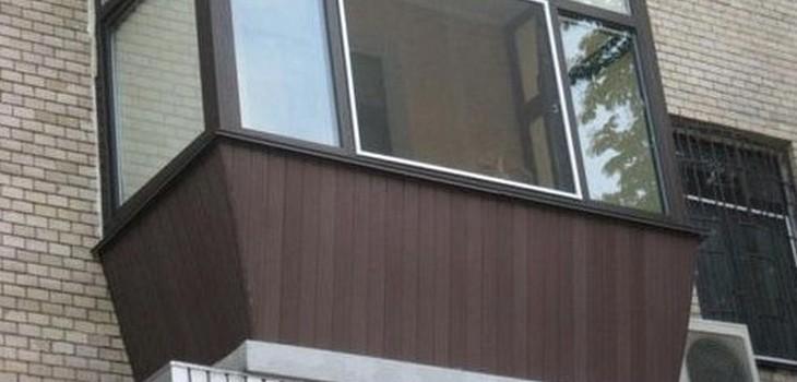 Наружная отделка балкона вагонкой виконт одесса