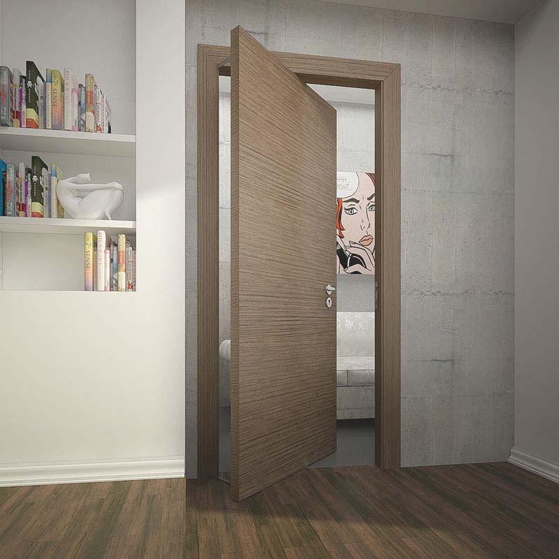 Межкомнатные двери с ротационным механизмом